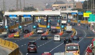 Gobierno iniciará demanda de inconstitucionalidad tras aprobación de suspensión de cobro de peajes