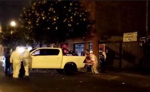 Lince: ataúd abandonado en calle Francisco Lazo fue trasladado a la morgue