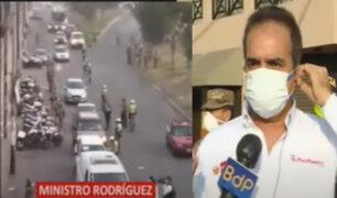 Covid-19: Se intensificará presencia policial en distritos con mayores casos de infectados