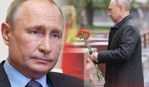 """Vladímir Putin rompe su confinamiento por el """"Día de la Victoria"""""""