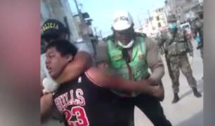 Tumbes: mototaxista se resiste a intervención policial durante la cuarentena