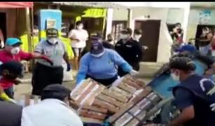 Tumbes: ambulantes se enfrentaron a serenos para evitar que se lleven sus productos