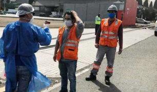 Covid-19: implementan áreas de control de salud en el puerto del Callao