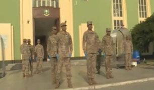 Alumnos del Ejército rinden homenaje a sus madres en su día