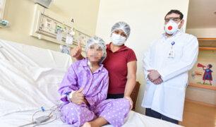 Instituto del Niño San Borja: extirpan tumor a niña y evitan que pierda ojo izquierdo