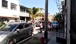 Piura: realizan fiesta en la calle por el Día de la Madre en plena cuarentena