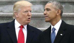 """Barack Obama tilda de """"desastre caótico"""" la gestión de Trump ante el coronavirus"""