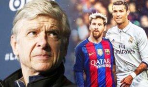 """Arsène Wenger: """"El reinado de Messi y Ronaldo está llegando a su fin"""""""