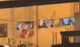 Penal de Chorrillos: internas protestan y piden pruebas COVID-19