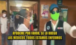 Desgarrador: doctora llora y ruega ayuda para sus colegas con Covid-19 en Iquitos