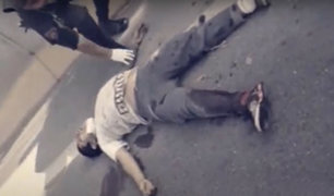 SJL: ladrón de mototaxi choca tras huir de policías