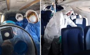 Empresas privadas ayudan en evacuación de médicos con coronavirus a Lima