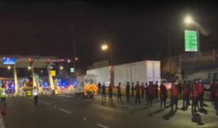 Puente Piedra: personal municipal verificó que no se cobre peaje durante estado de emergencia