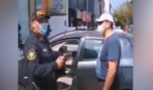 Miraflores: coronel EP se enfrentó a policías durante intervención