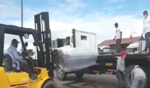 Iquitos: van llegando implementos para la planta de oxígeno impulsada por la Iglesia