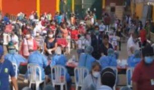 """SJM: realizan pruebas rápidas a comerciantes del mercado """"Ciudad de Dios"""