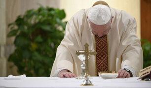 Papa Francisco rezó por las personas que perdieron su empleo por el Covid-19