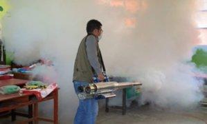Áncash: desinfectan colegios para que padres de familia no contraigan COVID-19