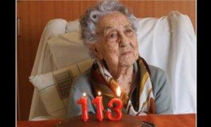 España: mujer de 113 años supera coronavirus