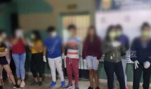 La Libertad: detienen a 12 menores por asistir a quinceañero en plena cuarentena