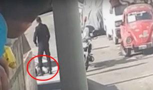 Chorrillos: ladrón armado fue detenido cuando intentaba robar