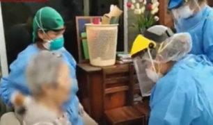 San Borja: EsSalud acude a casa de reposo de ancianos infectados
