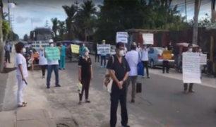 Iquitos: médicos piden tanques de oxígeno y materiales de protección