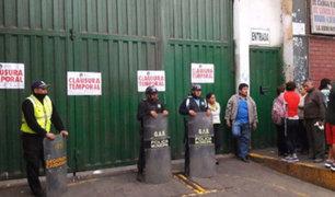 """SJM: cierran mercado """"Ciudad de Dios"""" por 120 casos de Covid-19"""