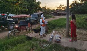 Ucayali: Indeci entregó 400 kits de alimentos a familias vulnerables