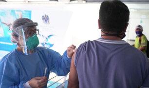 Trujillo: trabajadores de limpieza son inmunizados contra el neumococo