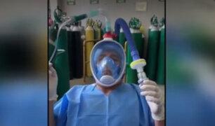 Investigadores de la PUCP diseñan respirador no invasivo para pacientes con Covid-19