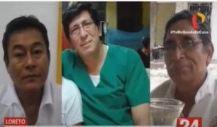 Loreto: Mueren 3 médicos esperando ser trasladados a Lima