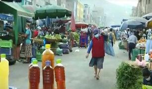 Estado de emergencia: Mercado La Parada sigue funcionando pese a restricciones
