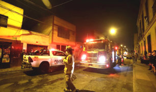 Rímac: mujer muere durante incendio de su vivienda