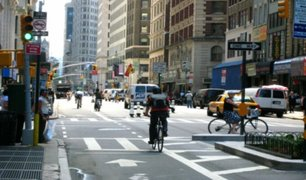 Abren cerca de 50 kilómetros de calles peatonalizadas y ciclovías en la ciudad de Nueva York