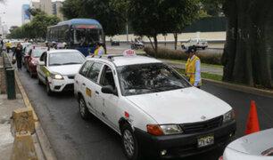 MTC: taxis colectivos no brindan garantías sanitarias para controlar el Covid-19