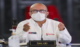 Gremios de salud respaldan al Ministro Víctor Zamora