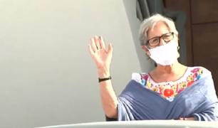 Susana Villarán salió de prisión para cumplir arresto domiciliario