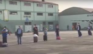 Personal médico de EsSalud viaja a Loreto para atender a pacientes con COVID-19