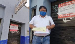 Lince: Municipio clausura pequeños negocios por cambiar de rubro sin autorización