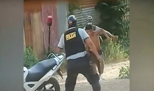 Tumbes: sujeto pone tenaz resistencia para evitar ser detenido