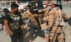 Tacna: Familia agrede a policías y soldados para evitar detención
