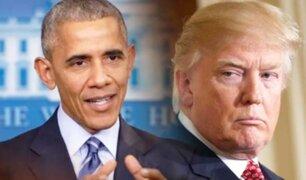 Obamagate: escándalo que involucra a Trump, llevaría a Obama ante la justicia