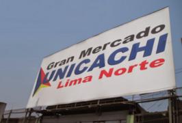 Clausuran mercado Unicachi de Comas por incumplir normas sanitarias