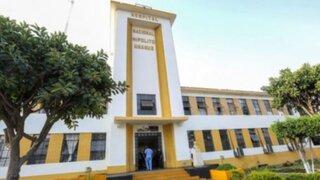 Hospital Hipólito Unanue descarta que se haya suspendido atención pese a protesta