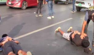 Puente Piedra: capturan a dos delincuentes que intentaron asaltar a prestamista