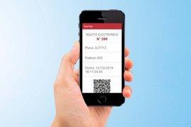 COVID-19: aplicación móvil permitirá cobrar pasajes de buses y combis
