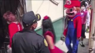 """Detienen a """"Mario Bros"""" por no respetar la cuarentena en Andahuaylas"""