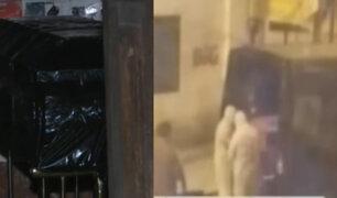 Breña: retiran ataúd con cadáver dentro de casa deshabitada