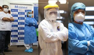 Hospital Rebagliati presentó equipos de primera línea para protección de trabajadores de salud